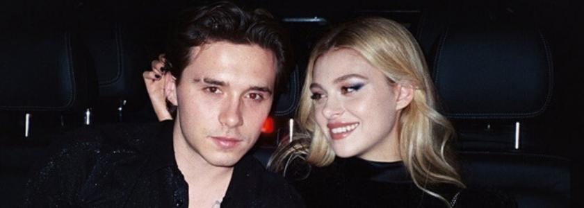Brooklyn Beckham กับแฟนสาว